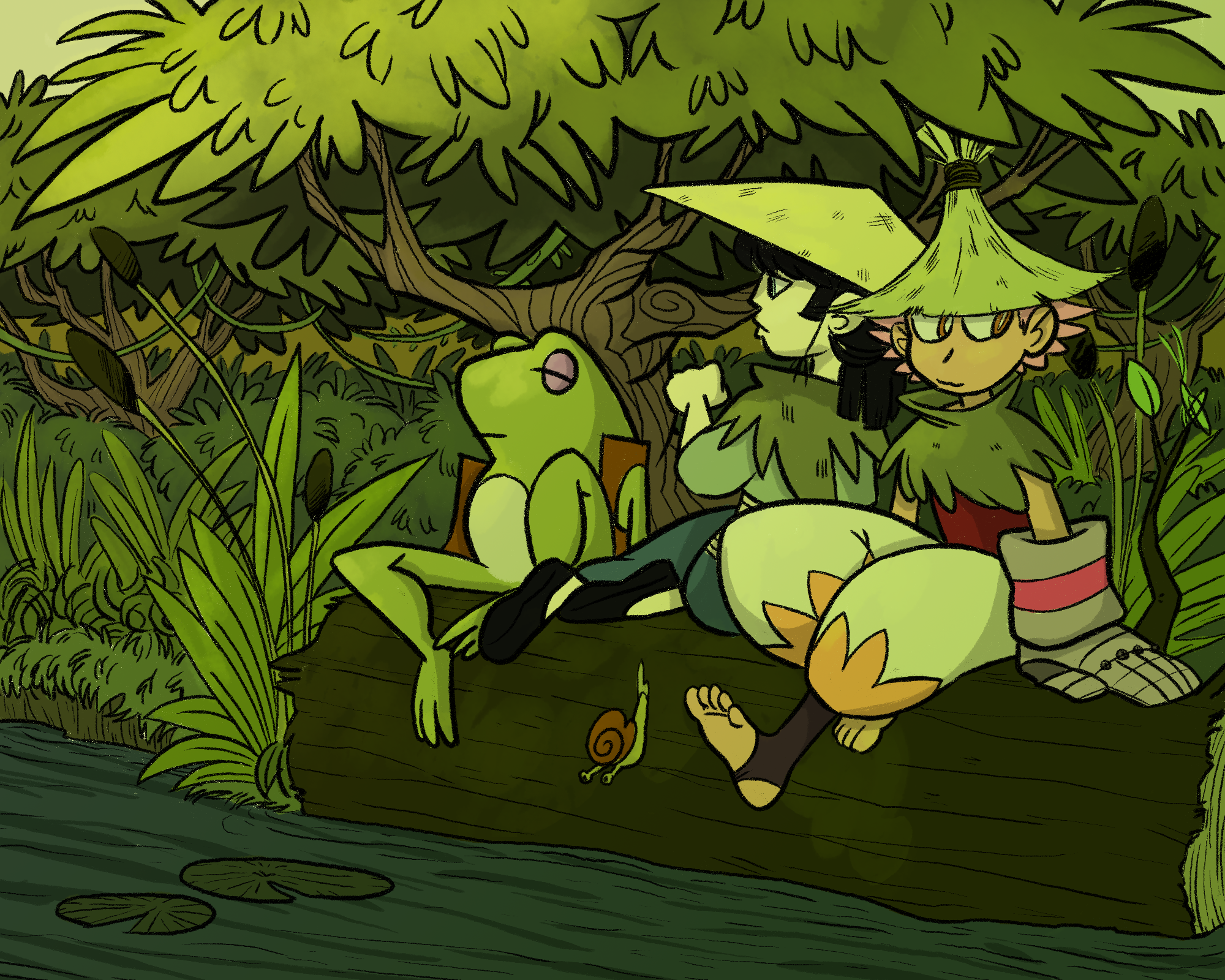 Swamp fashion
